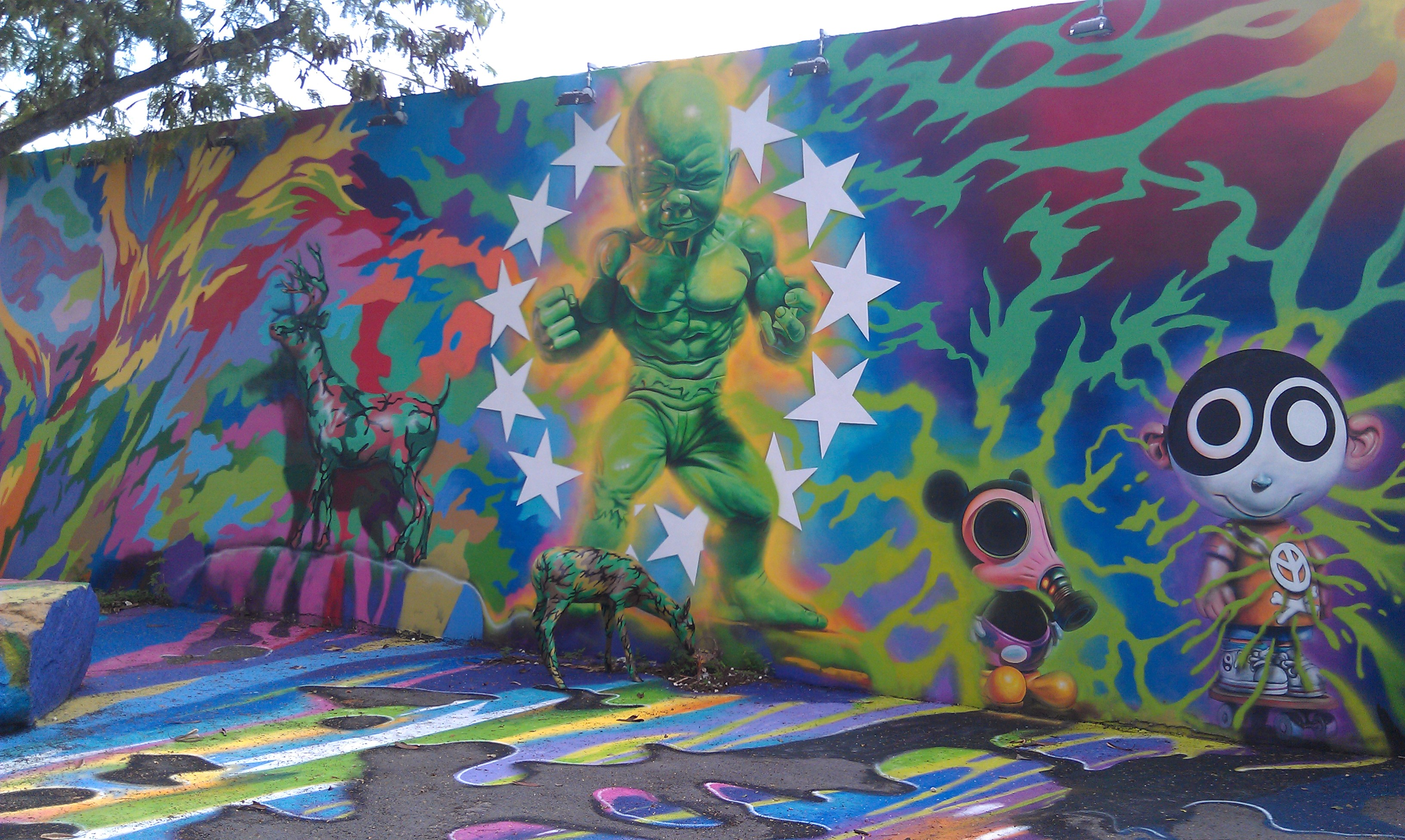 Mural Within the Wynwood Walls