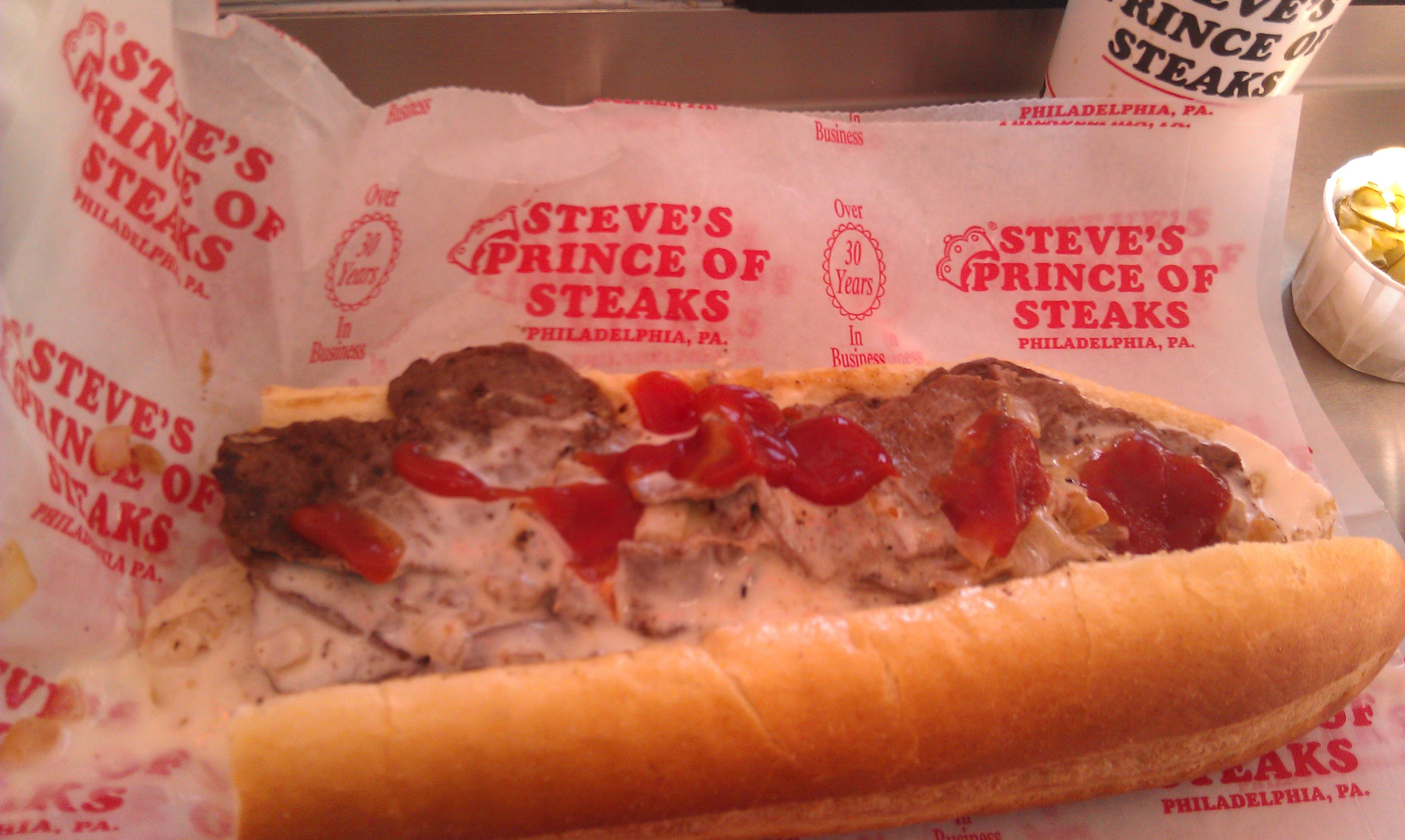 The Best Cheese Steak in Philadelphia