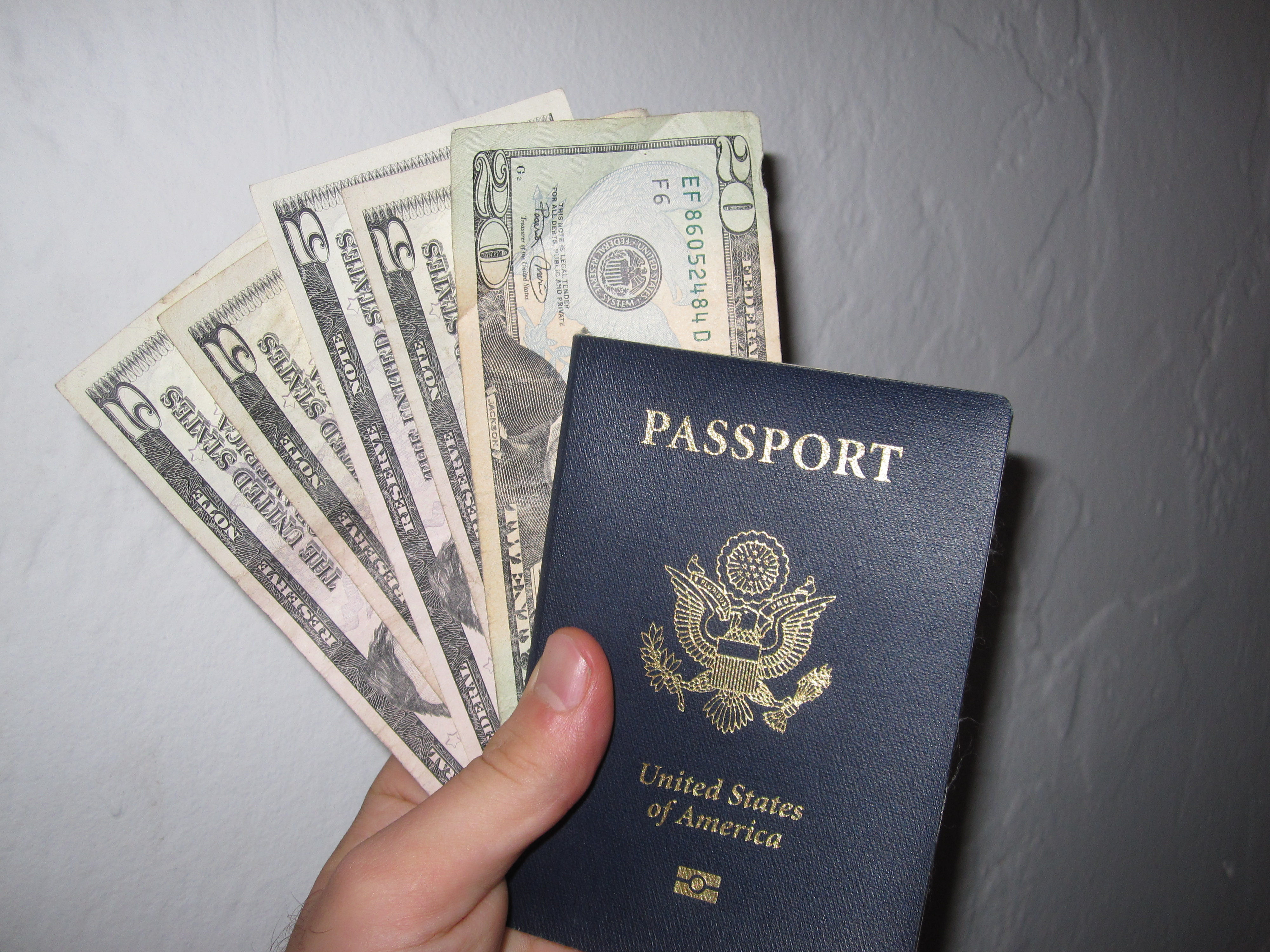 American Dollars and an American Passport