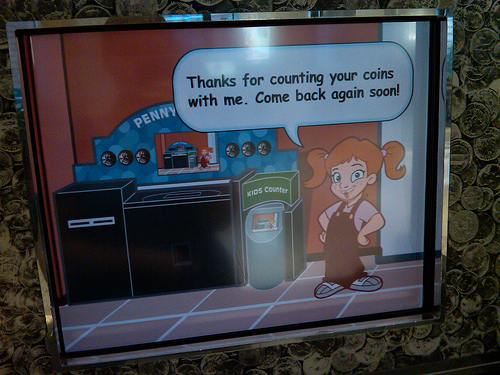 A picture of the Penny Arcade at TD Bank