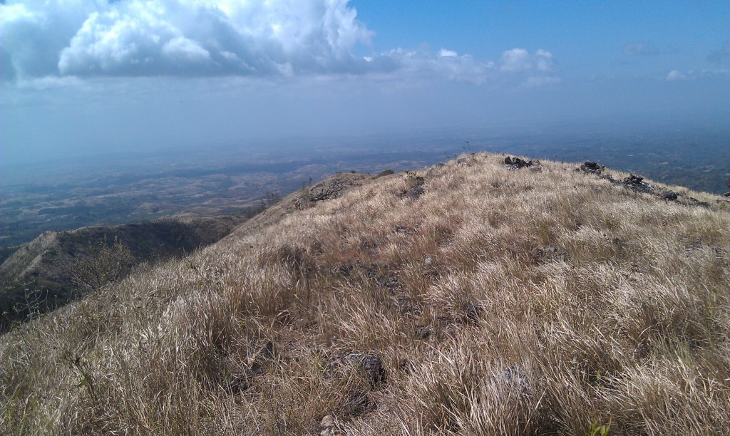 A view from the summit of Iguana in El Valle de Anton, Panama (you can see the ocean)