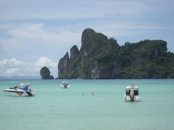The Beach in Thailand