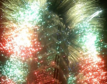 Fireworks at Taeipei 101 on New Years Eve