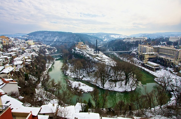 Veliko Tarnovo in Winter