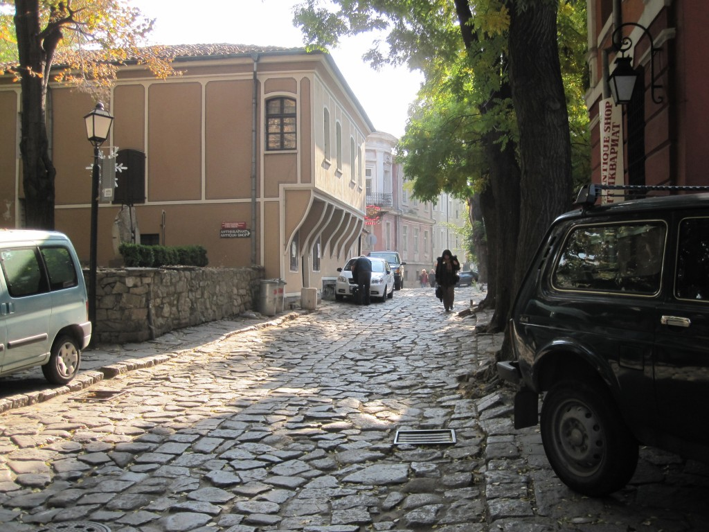 Plovdiv Old Town in Bulgaria