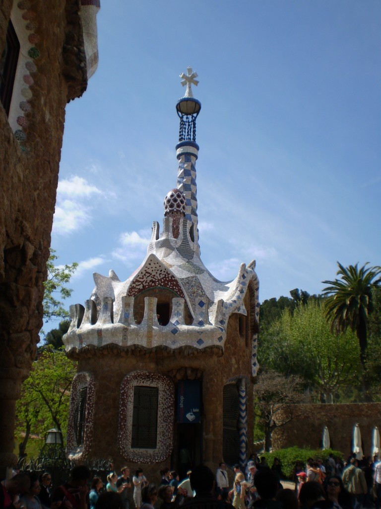 what's Parc Guell look like