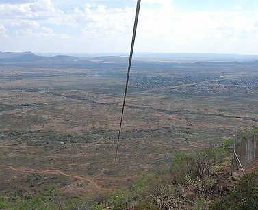 Zip line in Sun City, South Africa CC - bits&bobs