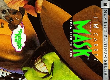 Jim Carey in The Mask