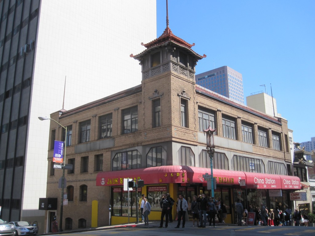 Chinese buildings in San Francisco