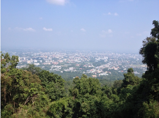 City view of Chaing Mai