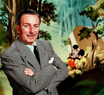 Walt Disney and Mickey Mouse, CC tollieschmidt