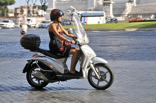 Scooter in Rome