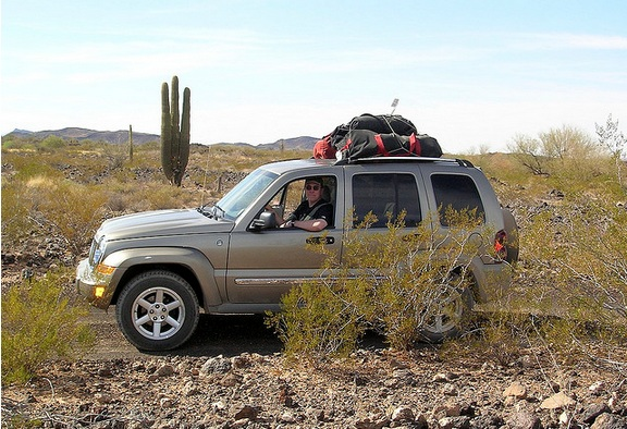 Off-roading in Mexico