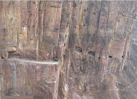 crazy roads in China