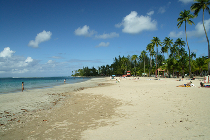 The beaches in Puerto Rico
