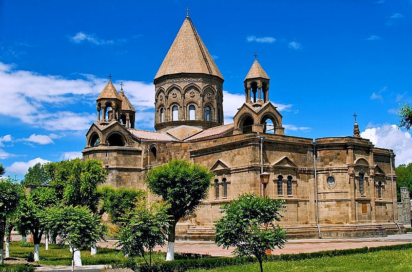 Oldest Cathedral in Armenia, form Wikipedia