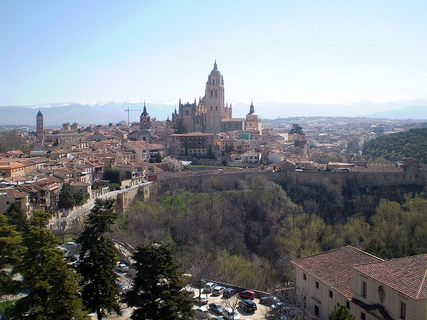 Segovia Cathedral and Skyline