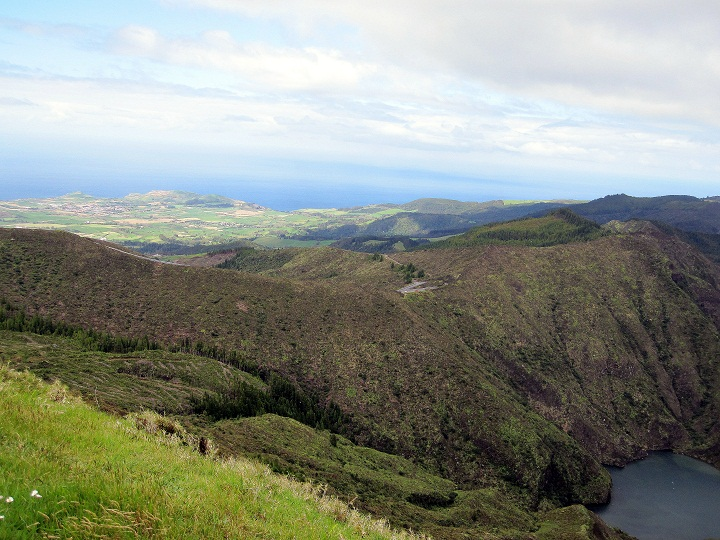beautful lake in Sao Miguel