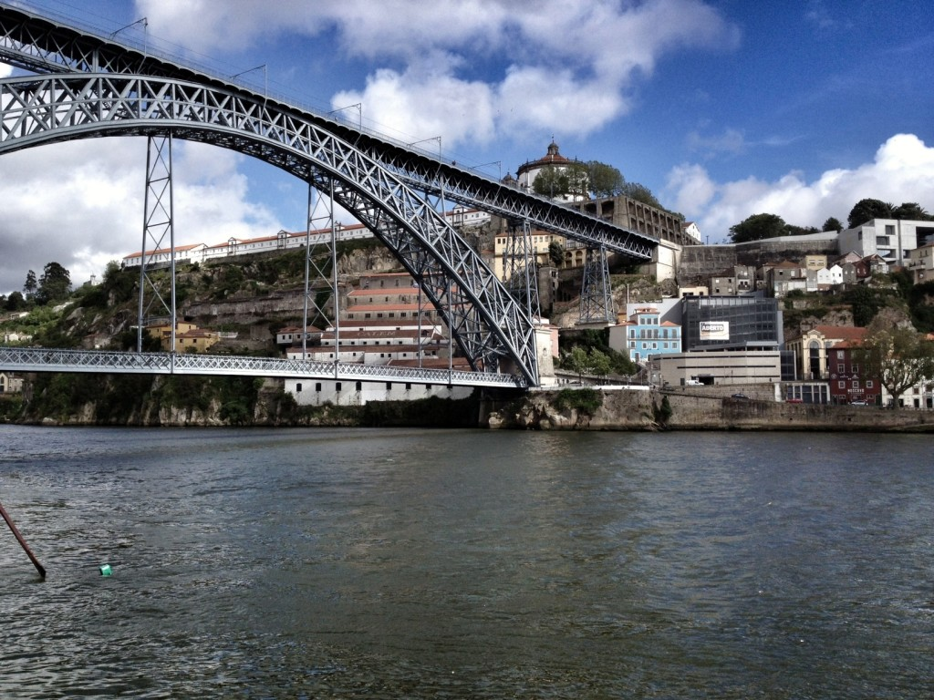 iconic bridge in Porto.