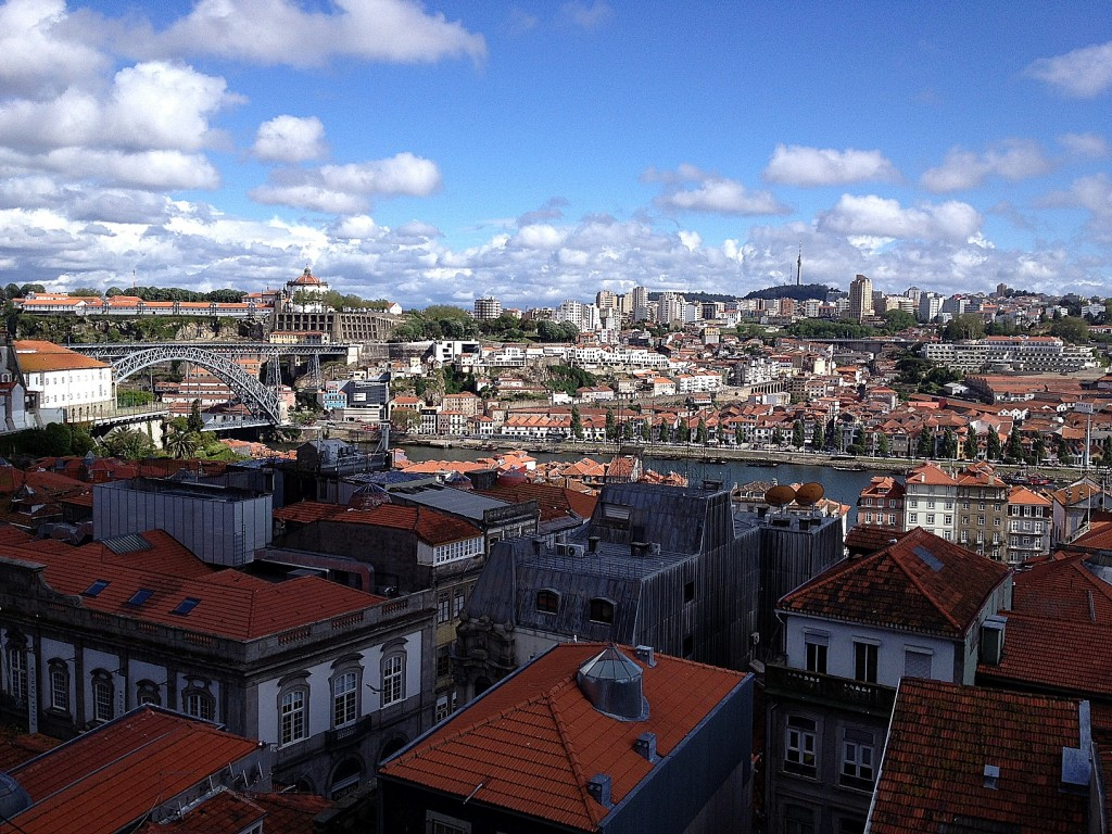 City scape of Porto