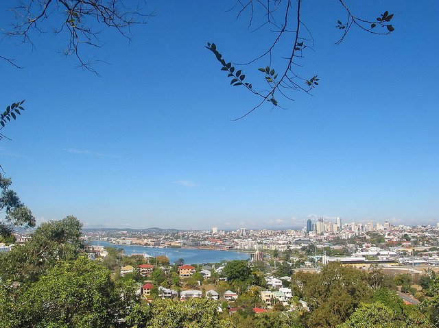 view of Brisbane