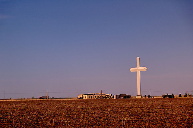 giant cross in texas
