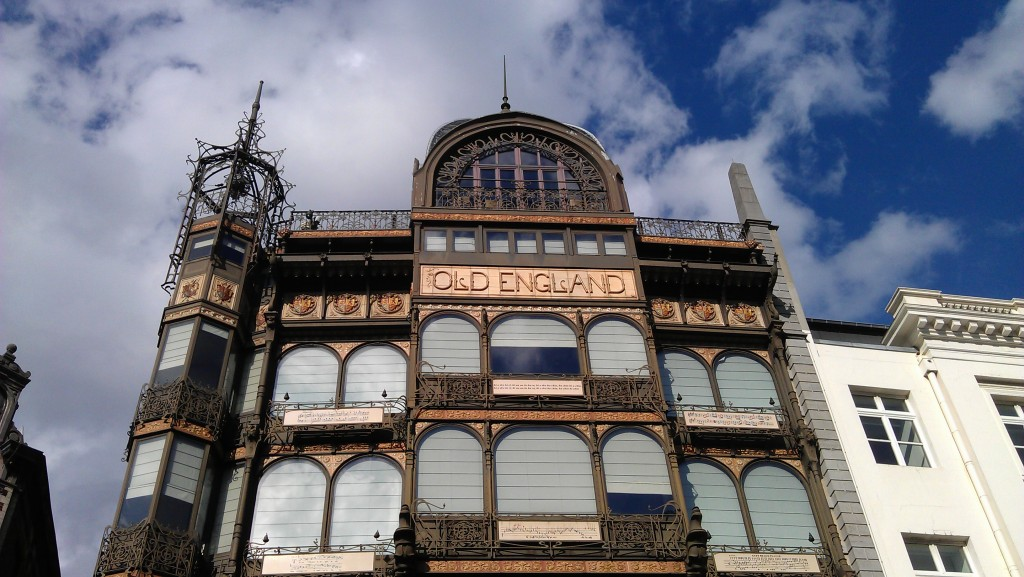 Art Nouveau Architecture in Brussels, Belgium