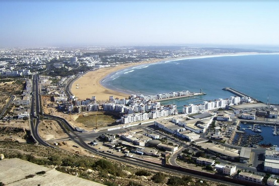 panoramic of Agadir