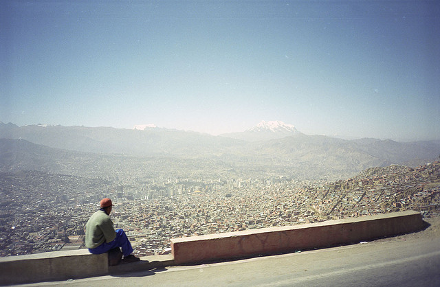 La Paz, Bolivia by Ben Cumming