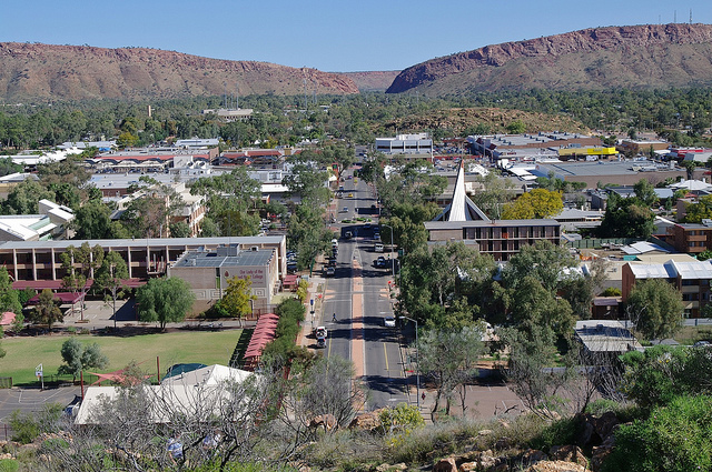 Alice Springs downtown