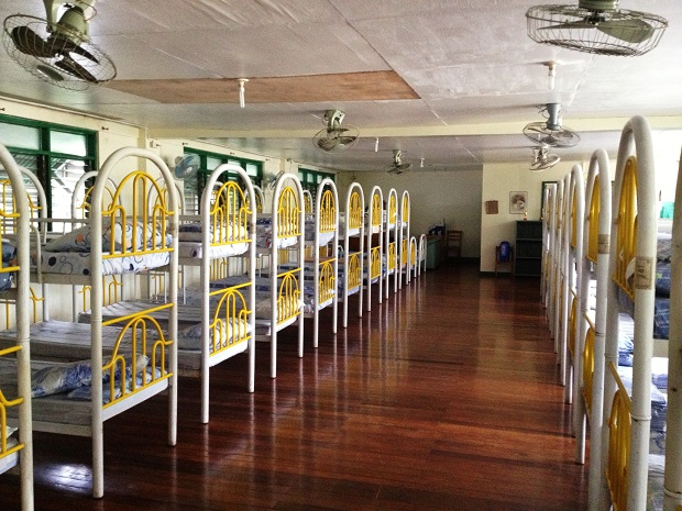 dorms at philippine school for the blind, manila