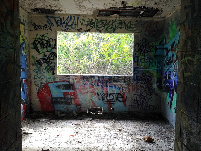 abaondoned insane asylum in Miami