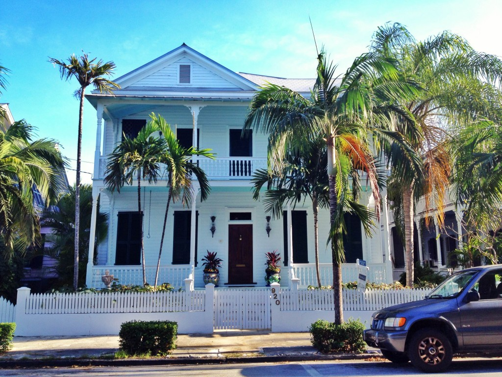wooden architecture in Key West