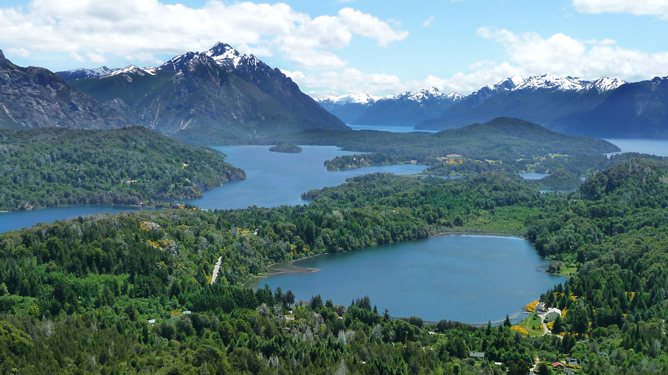 The lakes of Bariloche, Argentina