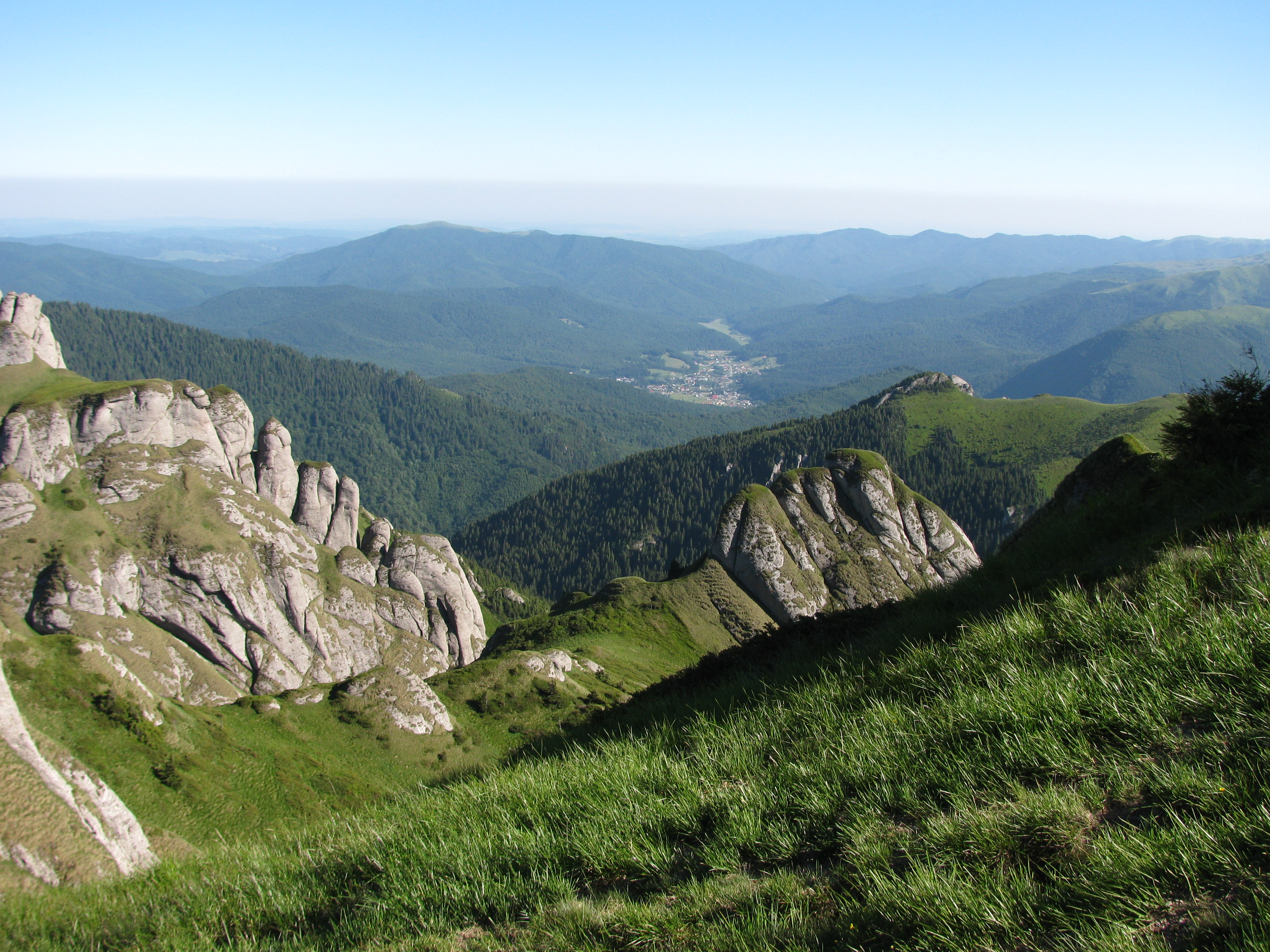 Mountains in Romania