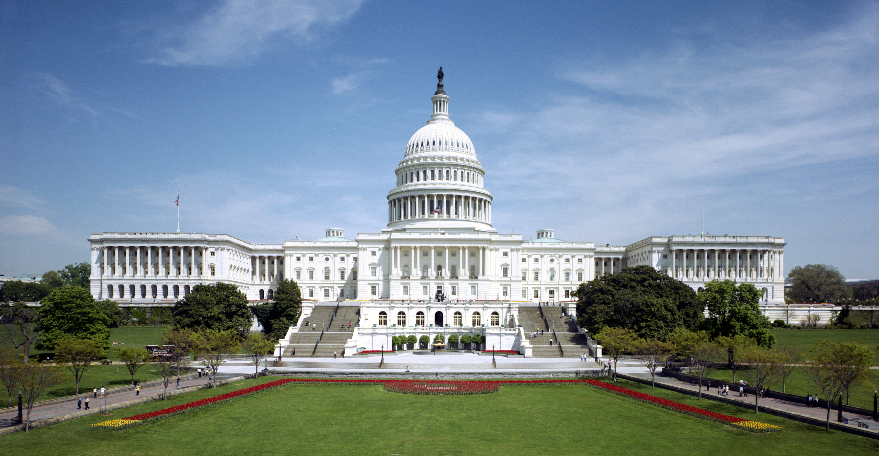 There are many houses of government that resemble the U.S. Capitol Building in Washington, DC, USA