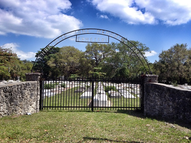 old cemetary in Coconut Grove