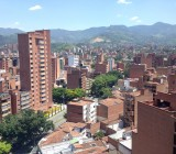 cityscape of Laureles, Medellin