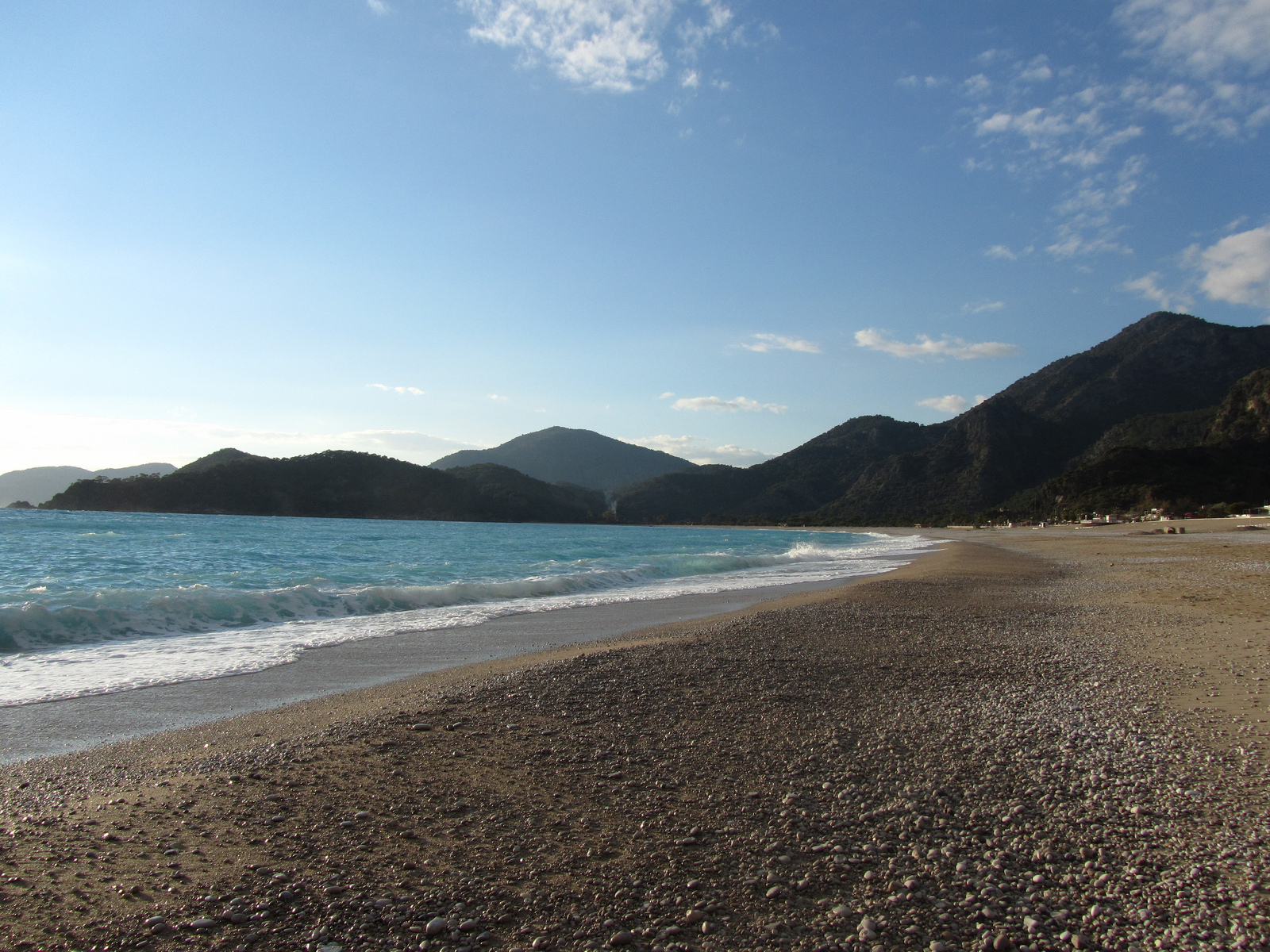 Lounging on Ölüdeniz beach is one of the best things to do in Dalaman!