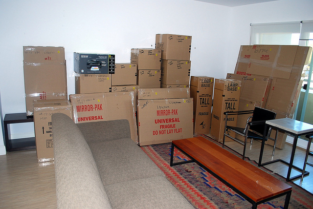 moving apartments