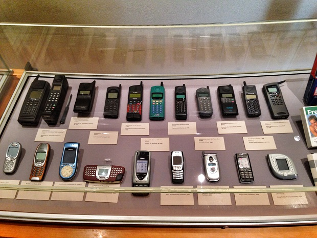 antique cell phones