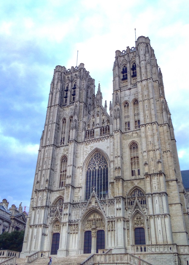 gothic cathedral in Brussels