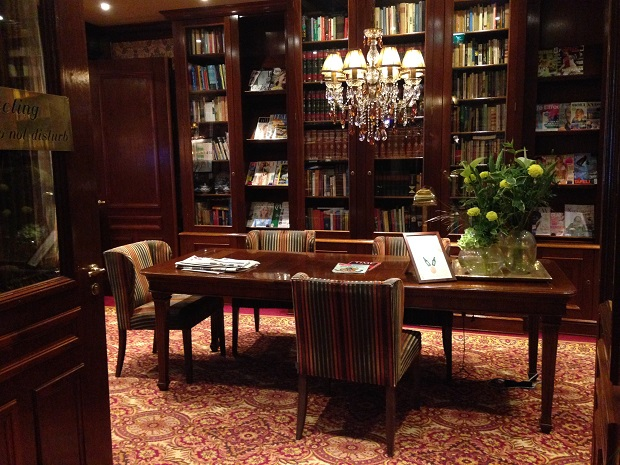 library at Hotel Estherea, Amsterdam