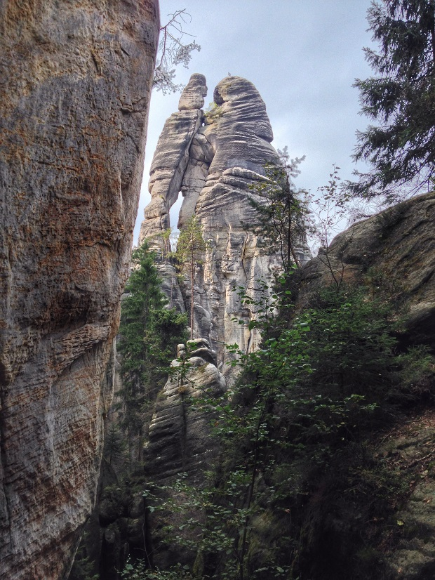 rock formations in Czech Republic, Tepice, Adrspach