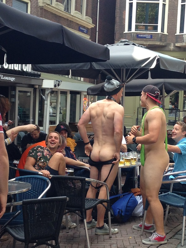 bacbachelor party in amsterdam
