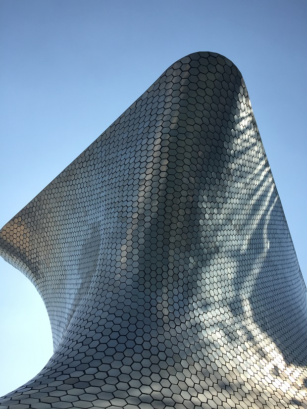 exterior of soumaya museum, planco, mexico city, art museum
