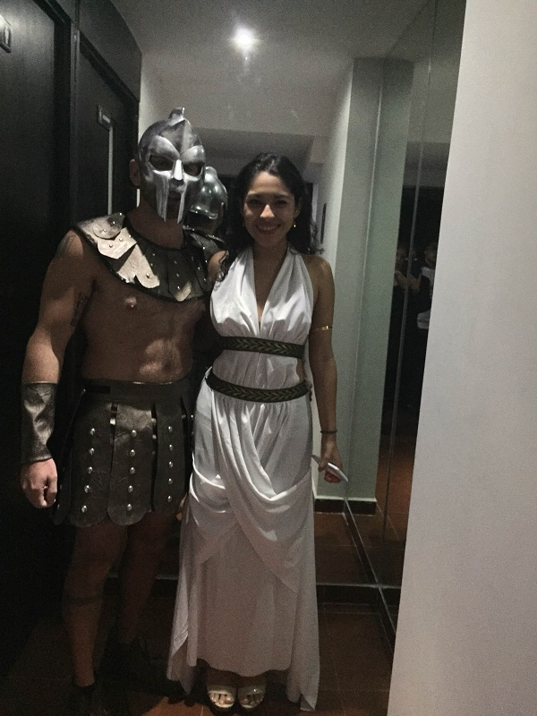 gladiator costume for halloween