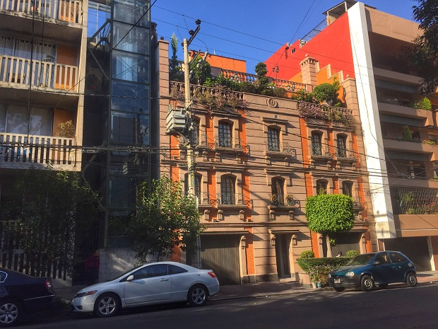 residential building in roma norte, mexico city