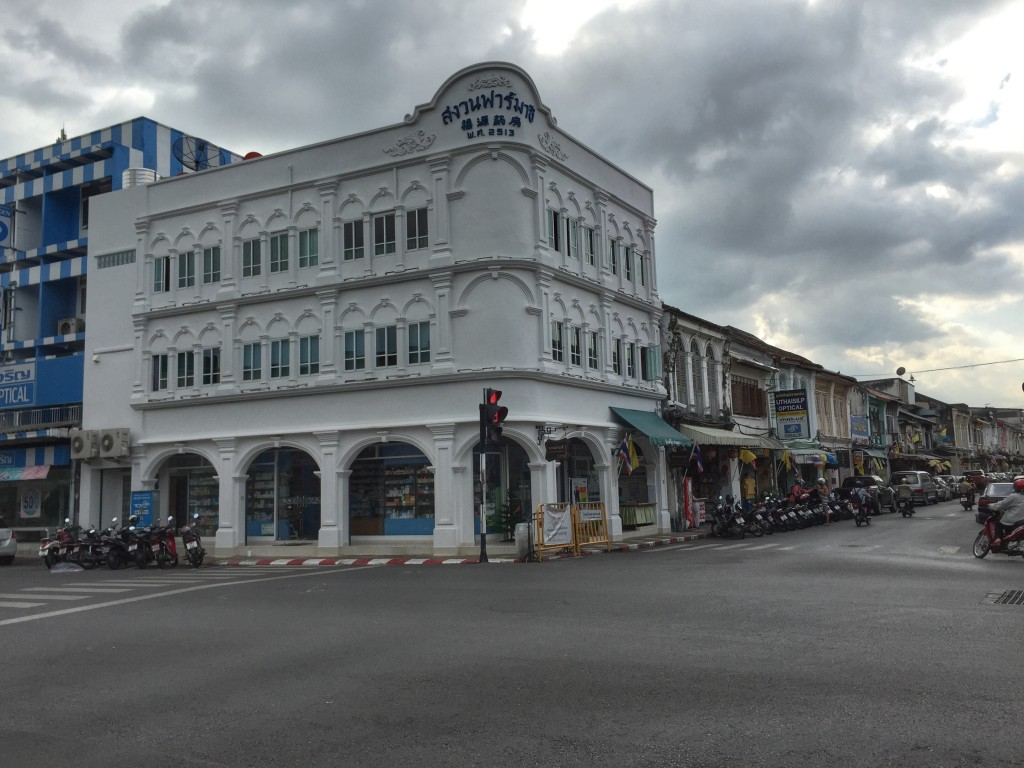 architecture in Phuket Town