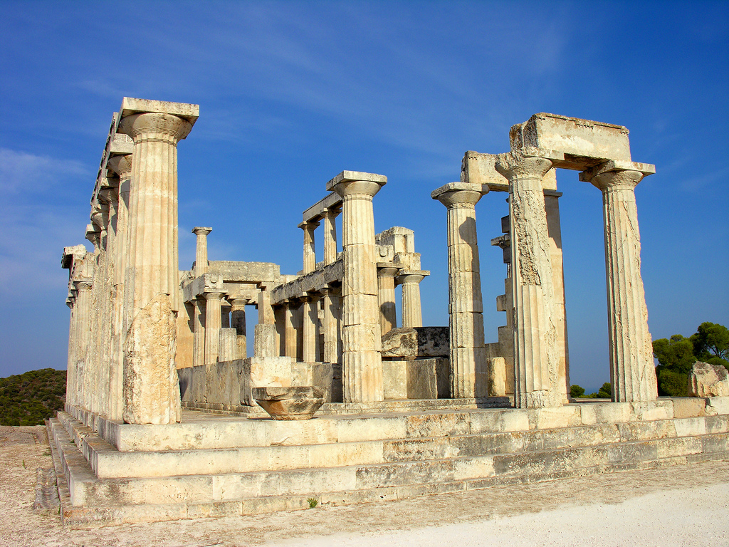 These ancient Greek ruins are one of the best reasons to visit Greece ... photo by CC user archer10 on Flickr